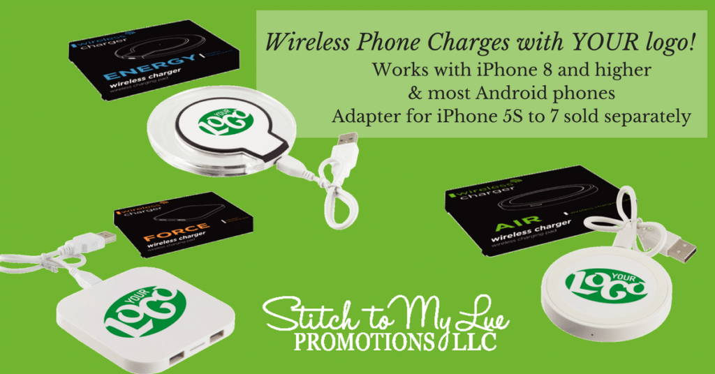 Wireless Phone Charges with YOUR logo!