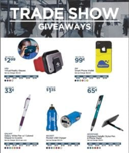 trade show give aways